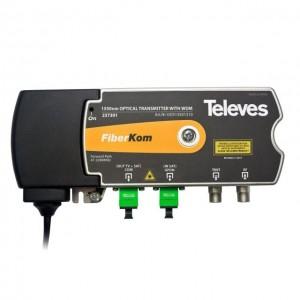 TX FO 1550nm (TERR.) / WDM 1310nm (SAT) SC/APC