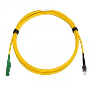 E2000 Angled - FC Singlemode fibre patch cable Simplex 2.5m