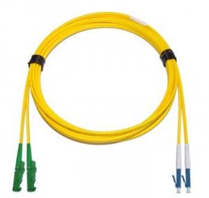 E2000 Angled - LC Singlemode fibre patch cable Duplex 20m