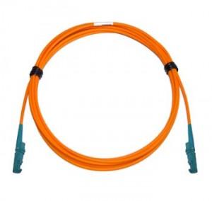 E2000 - E2000 Multimode fibre patch cord 62.5/125 OM1 Simplex 3m