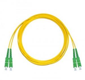 SC/APC - SC/APC Singlemode fibre patch cable Duplex 0.5m