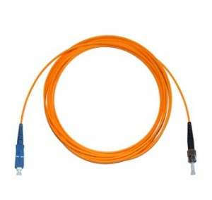 SC - ST Multimode fibre patch cable 62.5/125 OM1 Simplex 1m