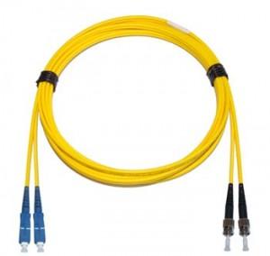 SC - ST Singlemode fibre patch cable Duplex 1m