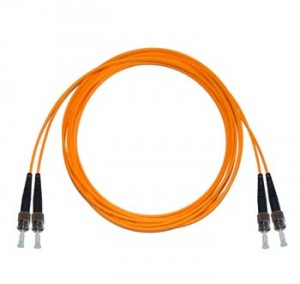 ST - ST Multimode fibre patch cord 50/125 OM2 Duplex 0.5m