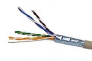 CAT5e FTP Grey LSOH Solid Cable 305Mtr