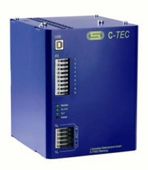 C-TEC 2405-5 0.5 KJ 24V DC capacitor buffer power supply UPS