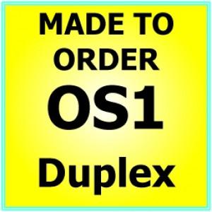 Made to order OS1 G652D Singlemode Duplex Fibre Patch Cable