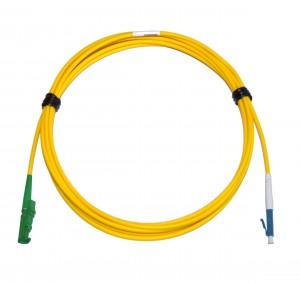 E2000 Angled - LC Singlemode fibre patch cable Simplex 20m