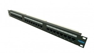 Brand-RexGiga Plus patch panel UTP 24 way CAT5e