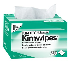 Kimtech Kimwipes Lint Free Fibre Optic Wipes