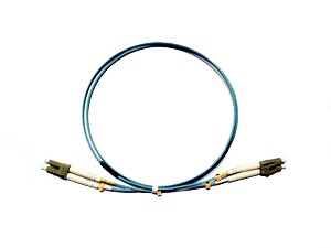 LC - LC Multimode fibre patch lead 50/125 OM3 Duplex 0.5m