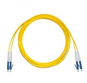 LC - LC Singlemode fibre patch lead  1.6mm Duplex 0.5m