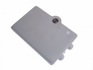 4 way Fibre optic terminal Lockable wall box