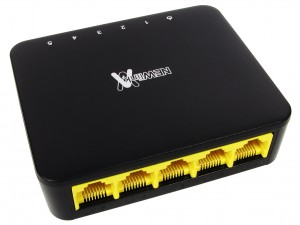 5 port 10/100/1000mbps gigabit ethernet switch