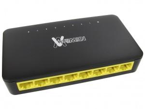 8 port 10/100/1000mbps gigabit ethernet switch