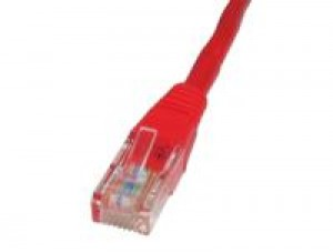 Red 10m Cat5 Ethernet cable - Patch cable RJ45 UTP