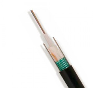 4 core armoured OM3 loose tube fibre cable - CST