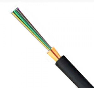 4 core Multimode fibre cable. OM1 Tight Buffered.