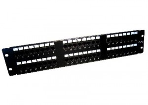 48 port cat6 patch panel - 2U