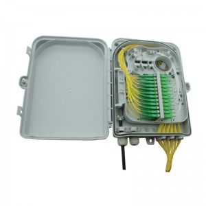 24 Way IP65 Wall mount Fibre FTTH termination enclosure - unloaded