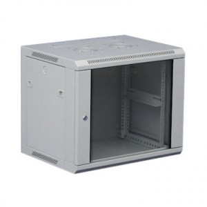 12U wall mount data cabinet Grey 600mm x 600mm